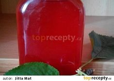Třešňový sirup recept - TopRecepty.cz Beverages, Drinks, Coca Cola, Vodka, Salsa, Jar, Canning, Vegetables, Food