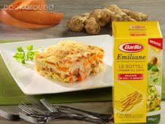 Lasagne zucca con ragù di calamari e gamberi: Ricette di Cookaround | Cookaround