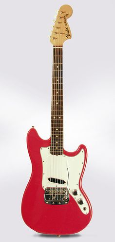 Fender Bronco 1967 Red Lacquer | Reverb