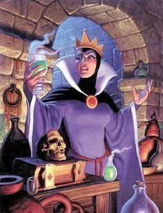 Disney`s Evil Queen, Brothers Hildebrandt Disney Fan Art, Disney Pixar, Film Disney, Disney Villains, Disney Characters, Punk Disney Princesses, Disney Facts, Fictional Characters, Dark Disney