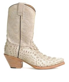 Cowboy boots with crocodile (may be wrong there) - Still unsure about these. Pretty but very light.