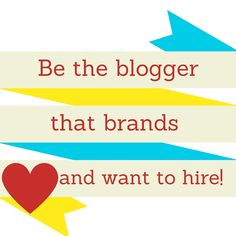 Be the blogger