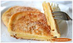 Glutenfreie Apfelküchle! Zarter Ausbackteig mit fruchtiger Füllung! www.rezepte-glutenfrei.de