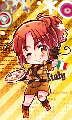 My friends always say I'm nyo Italy because i act like her and look like her. I do act like her but i look like 2p fem America (my profile pic)