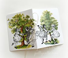 Children's Journal, Children's Festival Journal, Tree Journal, Child Journal, Festival Journal by PattyAntlesPrettys on Etsy