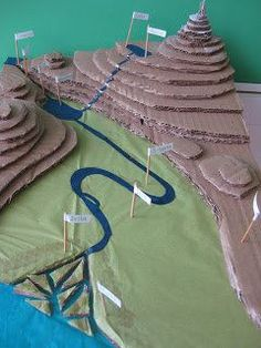 Geography project idea - Make a model river This site has some interesting ideas.