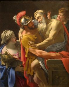 Manuscripts Aeneas Treated By Iapyx Fresco Manuscript Artwork Re-production New Clients First