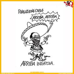 """Arriba Ingroia"", by Vauro (600×600)"
