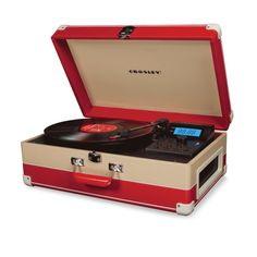 Modern Record player with iPod  crosley-660