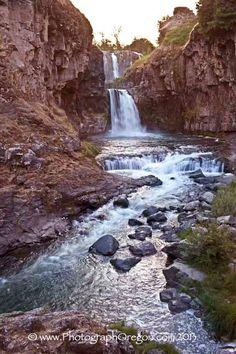 White Water Falls ~ Oregon