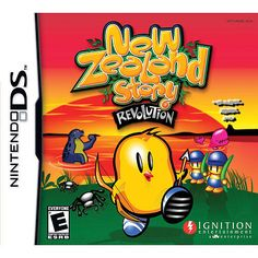 "New Zealand Story: Revolution for Nintendo DS - Ignition Entertainment - Toys ""R"" Us Nintendo Ds, Marc Jobs, Original Nintendo, Ds Lite, Ds Games, Cat Sweatshirt, Video New, Video Game, Game Concept"