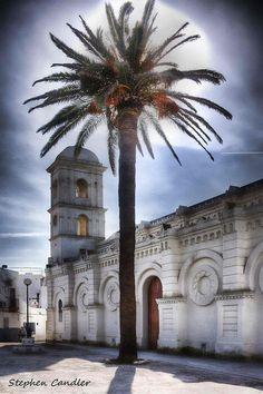 ✭ Church in the Plaza in Conil de la Frontera, Spain