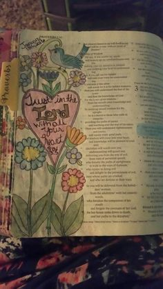 Proverbs 3:5  Trust in the Lord with all your heart, and do not lean on your own understanding.