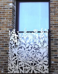 screen window grate security laser cut metal