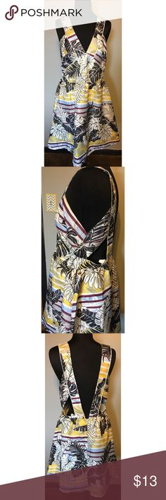 Hawaiian inspired cutout dress Hawaiian sparkle cutout dress with exposed back H&M Dresses Mini
