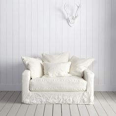 Frenchicandshabby: The Antibes Linen Sofa Collection...Comfortable French Style