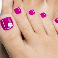Best Toe Nail Art - 53 Best Toe Nail Art for 2018 - Nail Art HQ