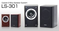 LS-301 - Coaxial 2-Way Speaker System