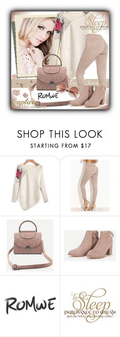 """Romwe 6/10"" by sanela1209 ❤ liked on Polyvore featuring WALL"