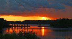 Amazing evening at Savonlinna, Finland