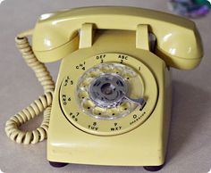 I miss good ol' rotary dial phones
