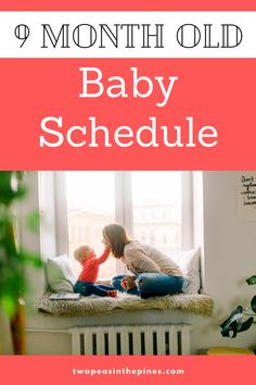 9 Month Old Baby Schedule sample with easy ideas and examples of combination feeding, eating solids, nursing and taking 2 naps per day. Also especially relevant if your breastfed baby is a night owl or stays up late but still sleeps through the night. 9 Month Old Sleep, 9 Month Old Baby, 9th Month, 8 Month Old Schedule, 1st Time Moms, Baby Sleep Schedule, 8 Month Olds, Sleeping Through The Night, I Wish I Had