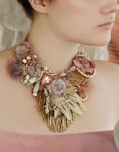 Bohemian Necklace by Krista R #fashion #style