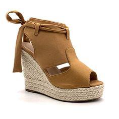 Baskets en Daim Lacets Femme,Kinlene Mode Hiver Chaussure Talon Compens/é Plateforme Ankle Boots