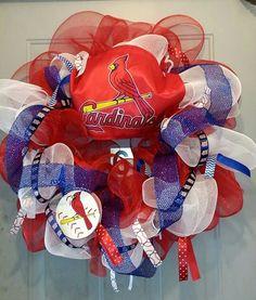 St.Louis Cardinal mesh wreath