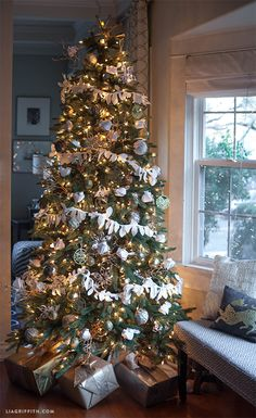 Handmade Holiday Tree from Lia Griffith