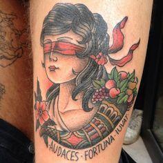 audaces fortuna iuvat tattoo