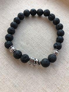 Helpful Aromatherapy Tips For Swimming Stretch Bracelets, Beaded Bracelets, Good Luck Bracelet, Elephant Bracelet, Lava Bracelet, Diffuser Jewelry, Wire Jewelry, Aromatherapy, Manualidades