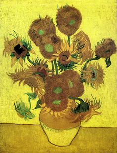 Vincent Van Gogh Still Life With Sunflowers