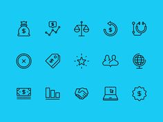 Burgess Report Icons 01 by Jon McClure