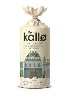 Kallo rice cake packaging inspired by folklore and fairytales, designed by Big Fish. #Branding #Design #Packaging #Print #Illustration