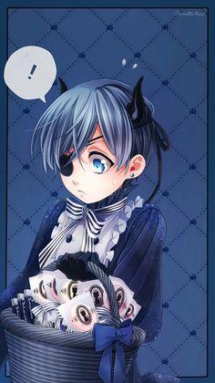 Ciel Phantomhive | Kuroshitsuji - Black Butler #Anime #Manga