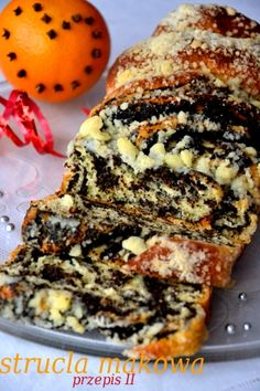 Poppy seed roll with crumb topping - Drożdżowa strucla makowa Bakery Recipes, Dessert Recipes, Cooking Recipes, Polish Desserts, Easter Dishes, Sweet Bakery, Sweets Cake, Bread And Pastries, Homemade Cakes