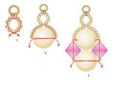 Free easy pattern for bracelet Radleja | Beads Magic