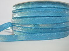5 Yards Turquoise Glitter Ribbon Glitter yarn, Metallic ribbon, Glitter yarn, Blue Glitter,B Glitter Ribbon, Blue Glitter, Bulk Ribbon, How To Make Headbands, Purse Handles, Fun Projects, Craft Supplies, Great Gifts, Turquoise
