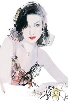 Fashion frontline: David Downton, fashion illustrator | The Times