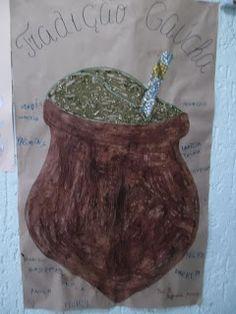 Rio Grande Do Sul, Planter Pots, School, Daycare Lesson Plans, Art Education Lessons