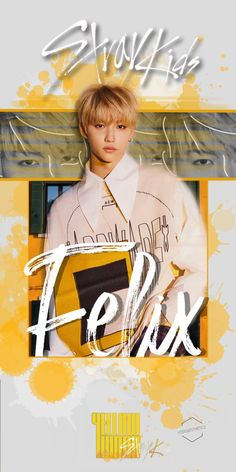 KPOP Wallpaper - ~Stray Kids Yellow Wood~ Hope you like it♡ Kpop Wallpaper, Boys Wallpaper, Wallpaper Quotes, Iphone Wallpaper, Kids Talent, Felix Stray Kids, Lee Know, Kpop Aesthetic, Nct Dream