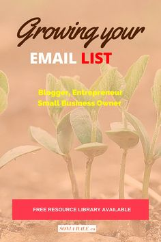 CLICK THRU >>>How to Build an Email List, List Building, Email Marketing, Why an email list is important for selling products and services for your blog or small business