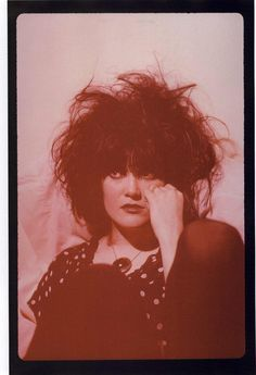 "X: Exene Cervenka, from the ""We're Desperate"" series by Jim..."