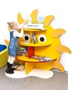 Biblioteca escolar expositor de libros Sol