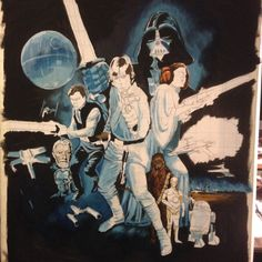 Stage 7. Not looking to bad so far, next session, Han Solo...........