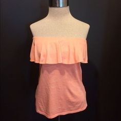 Lilly Pulitzer Tops - Lilly Pulitzer peach tube top