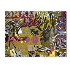 Dan Monteavaro 'Every Sometimes' Canvas Art