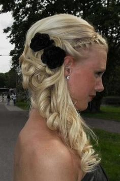 Prom Half Updo Hairstyles 347 | Prom Hairstyles Ideas