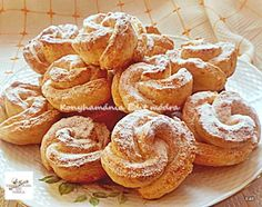 Hungarian Desserts, Hungarian Recipes, Cookie Recipes, Snack Recipes, Dessert Recipes, Snacks, Georgian Food, Romanian Food, Small Cake